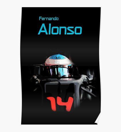 Fernando Alonso 2016 Poster