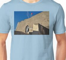 Facade of the medieval castle of Castro Marim Unisex T-Shirt