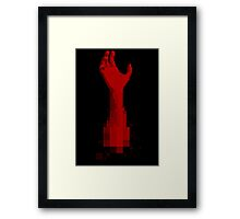 Ham (Red) Framed Print