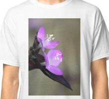 Spiderwort Flowers Classic T-Shirt
