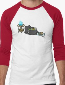 Behemoth the Cat Men's Baseball ¾ T-Shirt