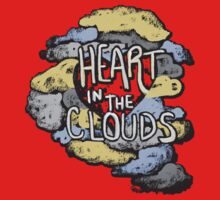 Heart in the Clouds Baby Tee