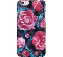 Blue and Pink Valentine Roses iPhone Case/Skin