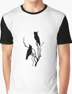 Wild Cockatoos Graphic T-Shirt