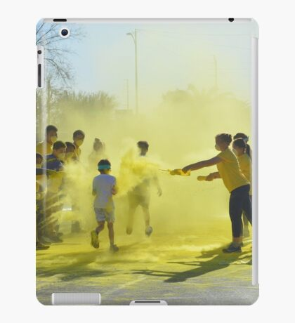 Color Run 5K iPad Case/Skin