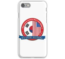 I may live in America but I was born in South Korea iPhone Case/Skin