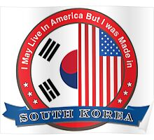 I may live in America but I was born in South Korea Poster
