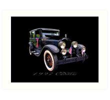 27 Cadillac Art Print