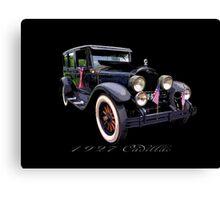 27 Cadillac Canvas Print