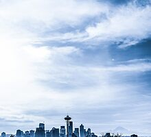 Blue Seattle by Ian Phares