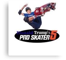 Make America Skate Again Canvas Print