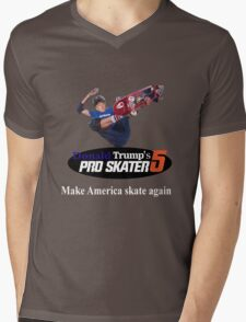 Make America Skate Again Mens V-Neck T-Shirt