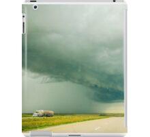 alberta storm cloud iPad Case/Skin