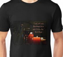 """I cook with Wine"" W.C. Fields Unisex T-Shirt"