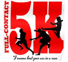Funny Running - Full Contact 5k Poster