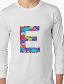 Fun Letter - E Long Sleeve T-Shirt
