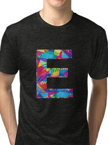 Fun Letter - E Tri-blend T-Shirt