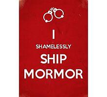 Shamelessly Ship Mormor Photographic Print