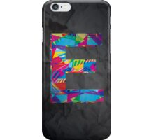 Fun Letter - E iPhone Case/Skin