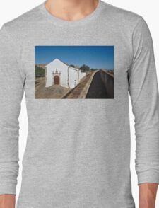 Church of Misericordia in Medieval Castle Long Sleeve T-Shirt