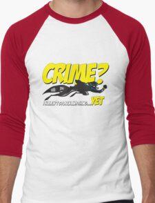 Crime? Men's Baseball ¾ T-Shirt