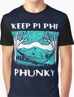 Keep Pi Phi Phunky Graphic T-Shirt