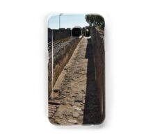 Walking on the Castle Wall Samsung Galaxy Case/Skin