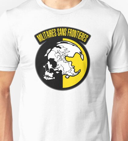 MGS - Militaires Sans Frontieres Logo Unisex T-Shirt