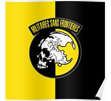 MGS - Militaires Sans Frontieres Logo Poster