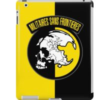 MGS - Militaires Sans Frontieres Logo iPad Case/Skin