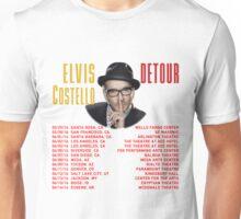 HITS ELVIS COSTELLO DETOUR LIVE 2016 ESTR Unisex T-Shirt