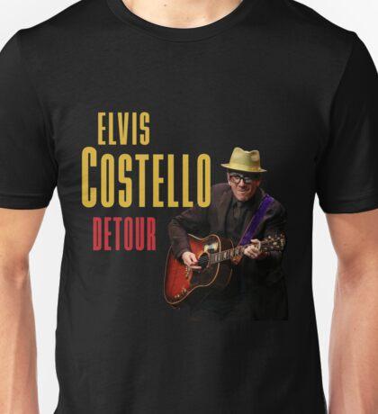 HITS ELVIS COSTELLO DETOUR LIVE 2016 ESTR02 Unisex T-Shirt