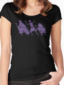 999 Happy Haunts Women's Fitted Scoop T-Shirt