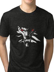 The Witcher Logo Tri-blend T-Shirt