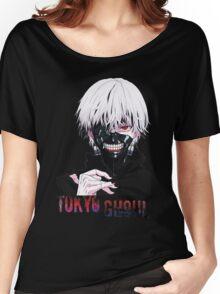 Kaneki Ken Tokyo Ghoul Anime Women's Relaxed Fit T-Shirt