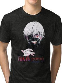 Kaneki Ken Tokyo Ghoul Anime Tri-blend T-Shirt