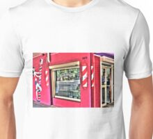 Pole Dancing Barber of Picton. Unisex T-Shirt