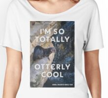 OTTERLY COOL - Animal Encounter World Tour Women's Relaxed Fit T-Shirt
