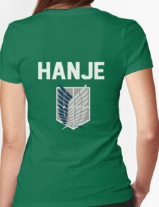 Attack On Titan - Hanje Zoe Womens Fitted T-Shirt