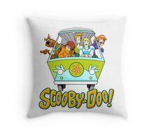 scooby doo Throw Pillow