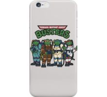 Tenege mutant gosht buster iPhone Case/Skin