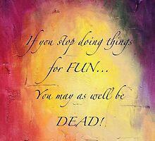 Hemingway Quote - Rainbow by SpottiClogg