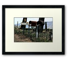 In no order. Framed Print
