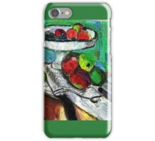 Still Life(After Matisse) iPhone Case/Skin