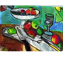 Still Life(After Matisse) Photographic Print