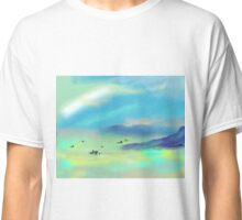 Foggy Morning on the San Francisco Bay Classic T-Shirt