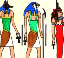 Ancient Egyptian Gods Sticker