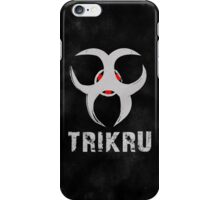 The 100 Trikru Symbol [Black] iPhone Case/Skin