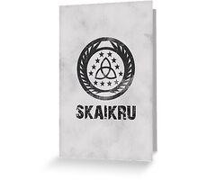 The 100 Skaikru Symbol Greeting Card