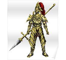 Dragonslayer Ornstein Poster